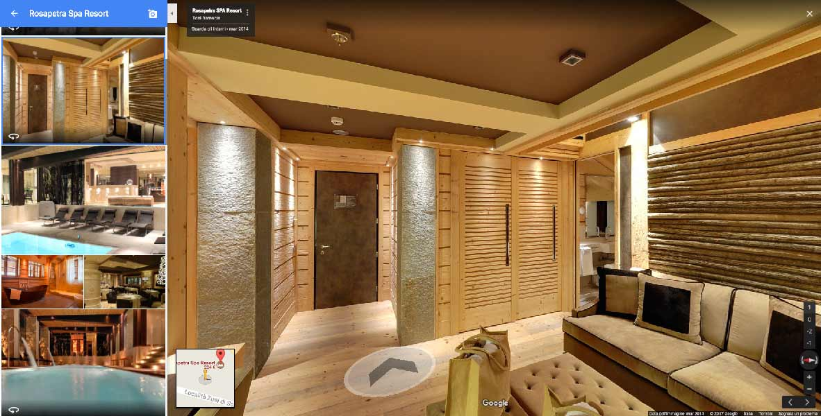 google street view, Google Street View entra negli Hotel, Hospitality Team, Hospitality Team